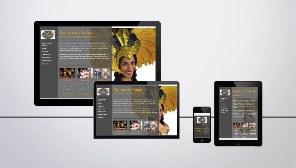 Responsive Website Erstellung mit Jimdo