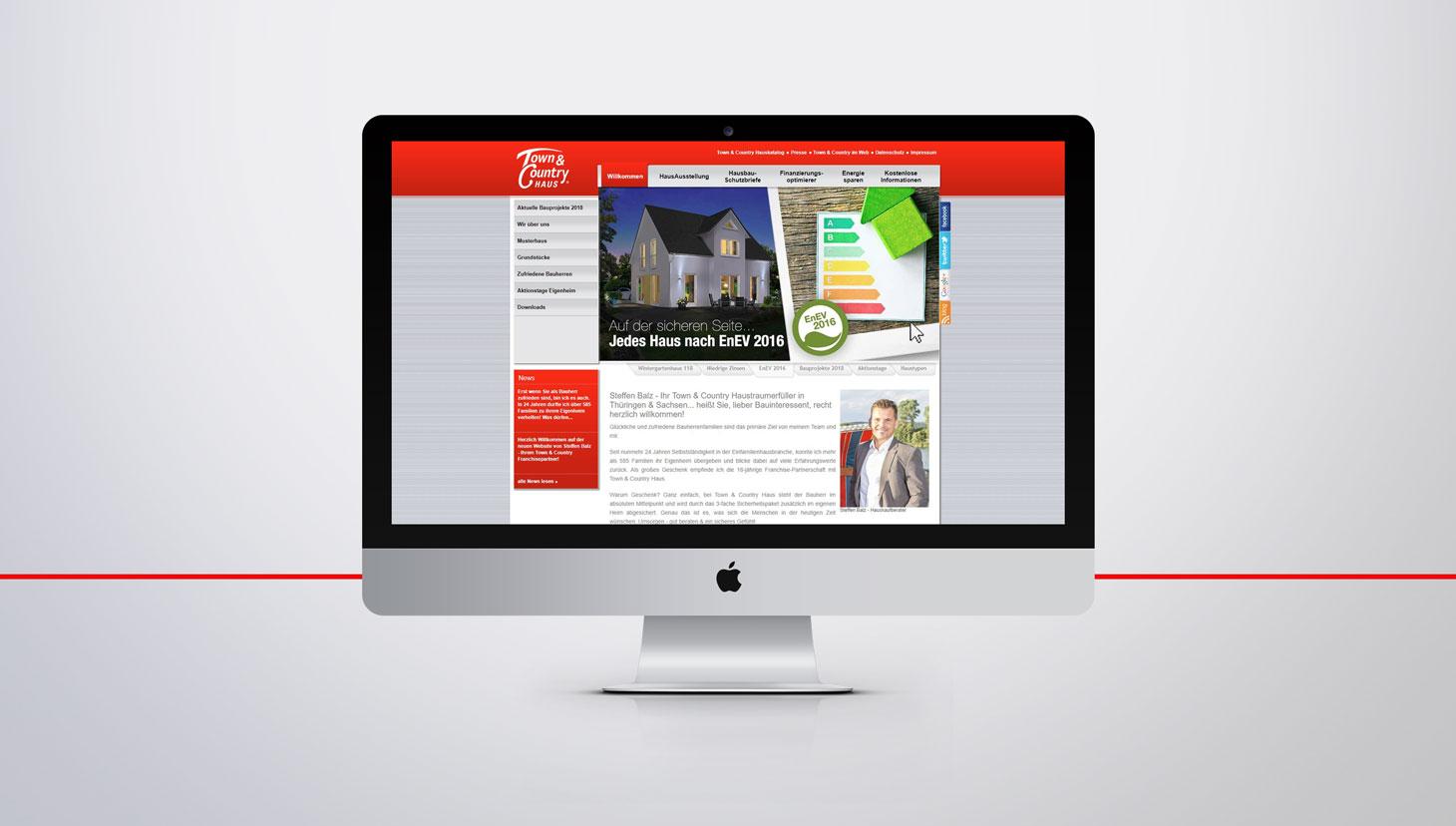 Website Erstellung mit Typo3