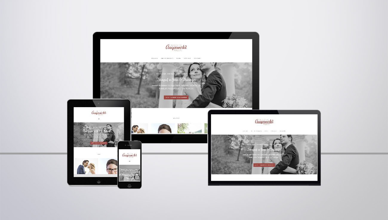 Responsive Website Erstellung mit WordPress
