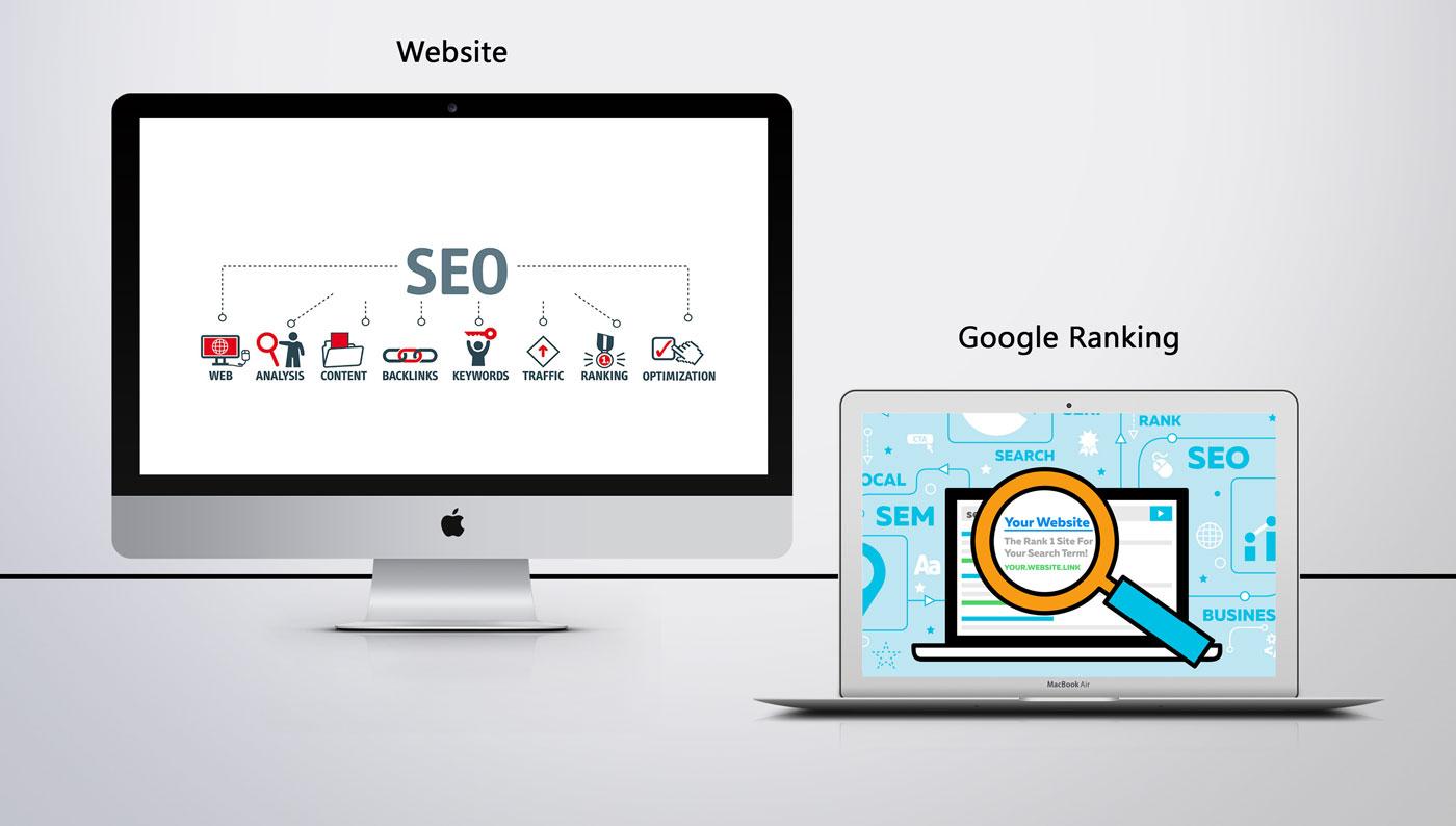 Suchmaschinenoptimierung SEO - Branchen unabhängig