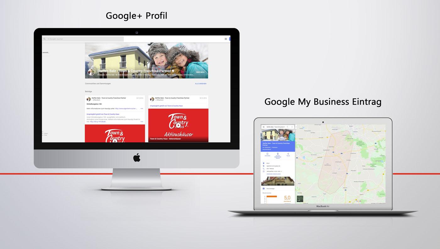 Google+ Profil & Google My Business