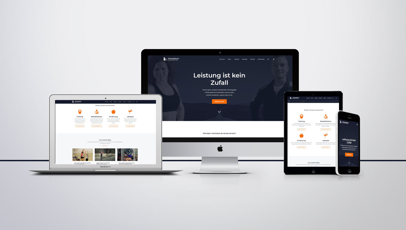 Responsive Website mit WordPress