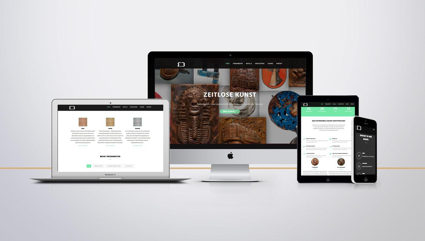 Website mit WordPress im Responsive Webdesign