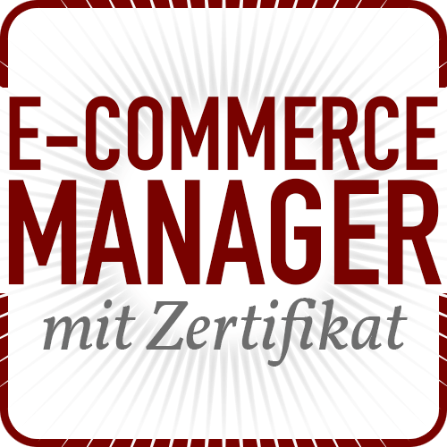 E-Commerce Manager mit Zertifikat