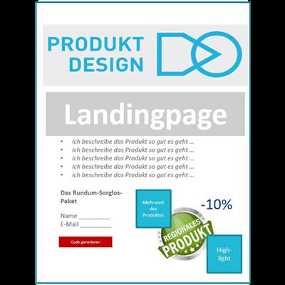 Landingpage für Google AdWords Kampagnen