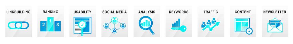 SEO: Keywords - Content - Ranking - Linkbuilding -Website-Analyse -Usability - Social Media u.v.m.