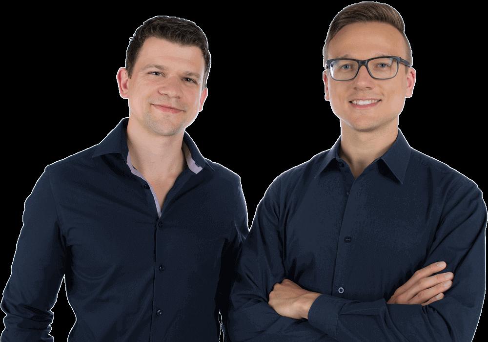 Marco Nemetschek und Norman Höhne - Ihre OnlineMarketing Heads