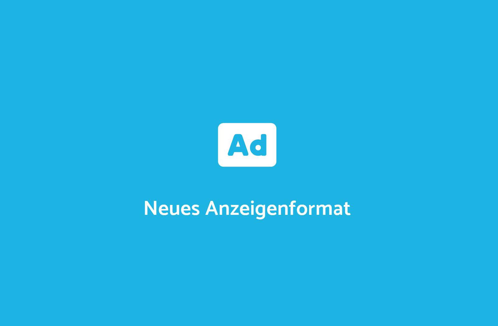 Anzeigenformat bei Google AdWords