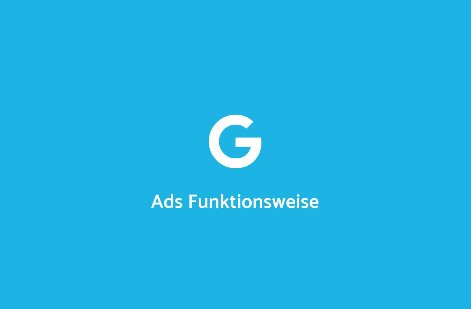 Funktionsweise von Google AdWords Tool