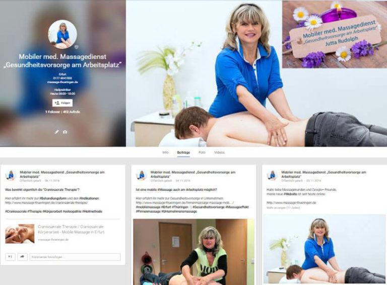 Google+ Profil - Beispiel