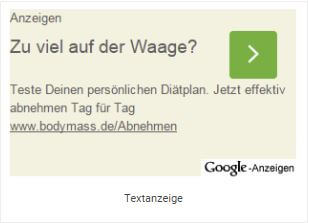 Remarketing - Textanzeige