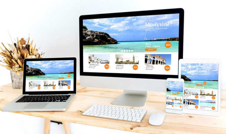Website Erstellung im Responsive Webdesign