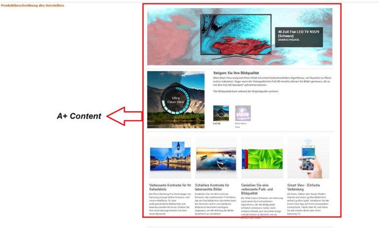 A+Content - Amazon SEO