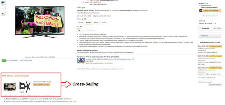 Amazon Cross-Selling