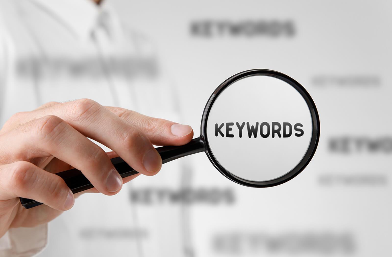 Keywords finden