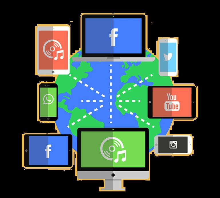 Social Media Kanäle