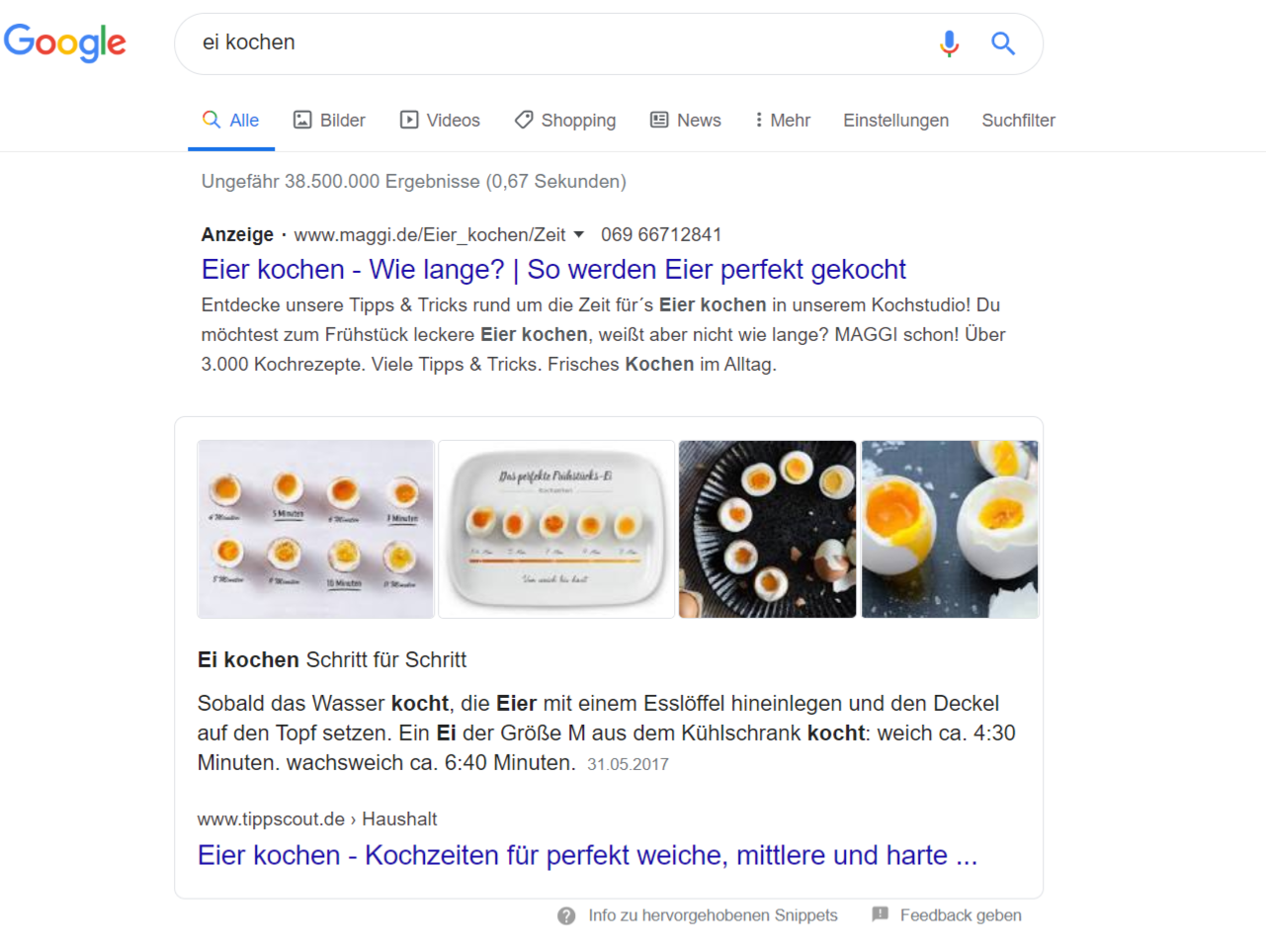 Google Featured Snippets optimieren