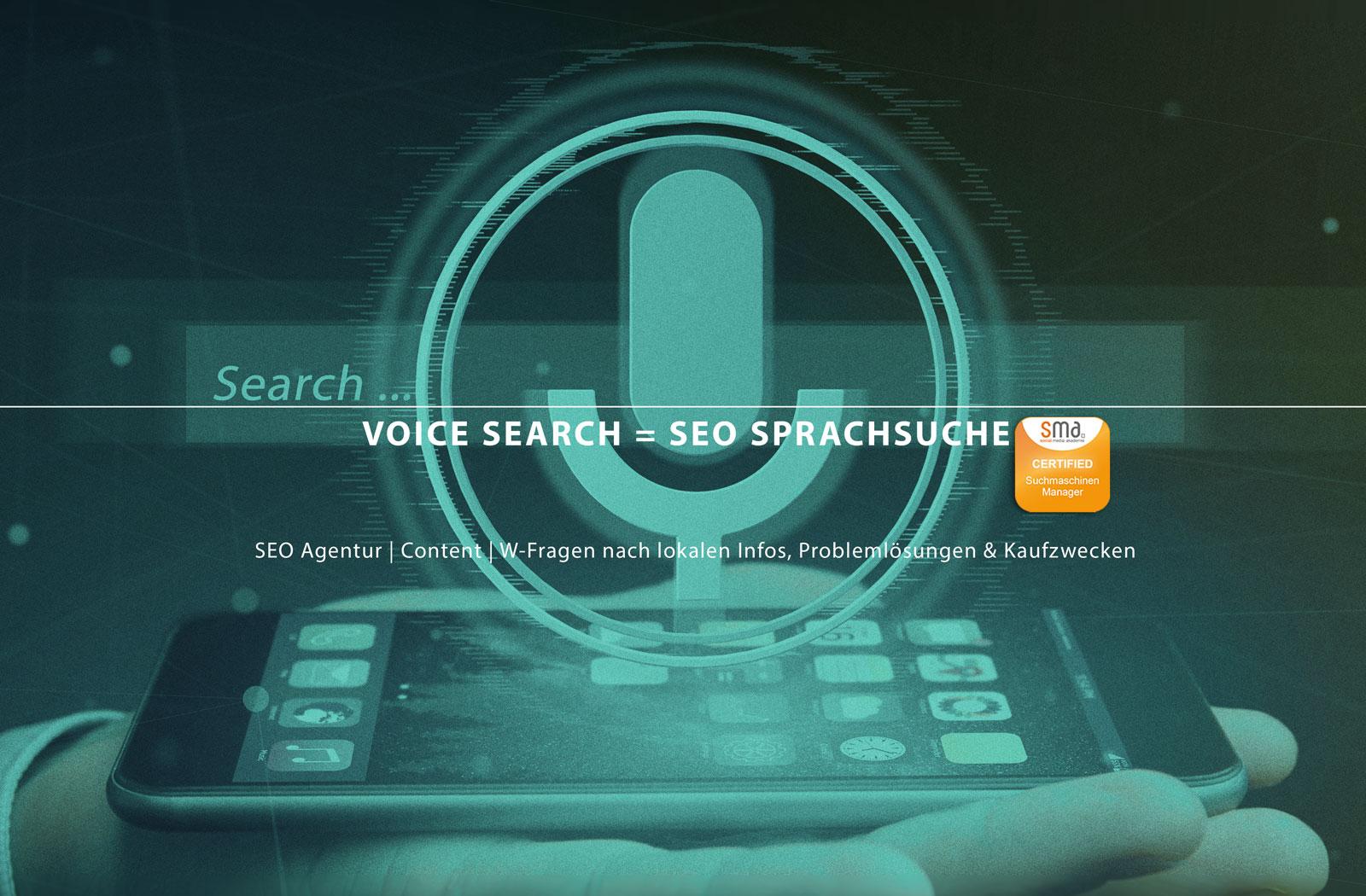 Voice Search SEO Sprachsuche: SEO Agentur