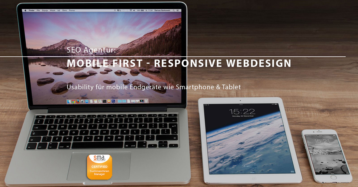 Mobile First - Responsive Webdesign der OnlineMarketing Heads