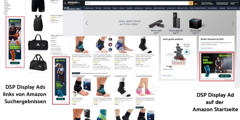 DSP Display Ads auf Amazon