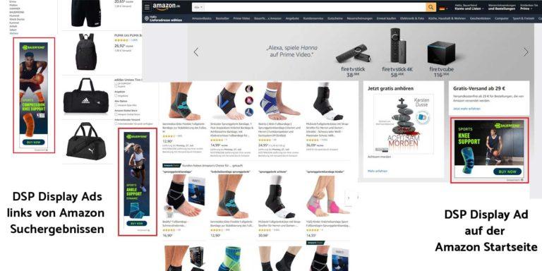 DSP Display Ads auf Amazon