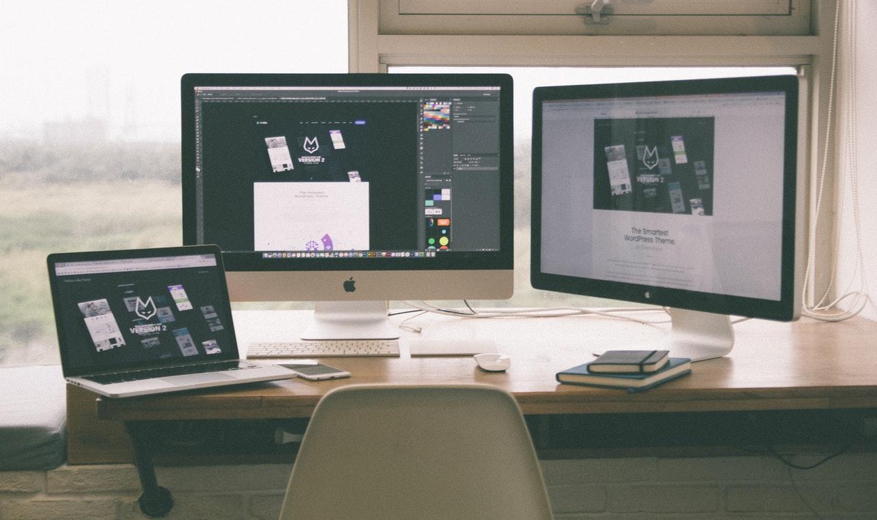 Webdesign für die Website