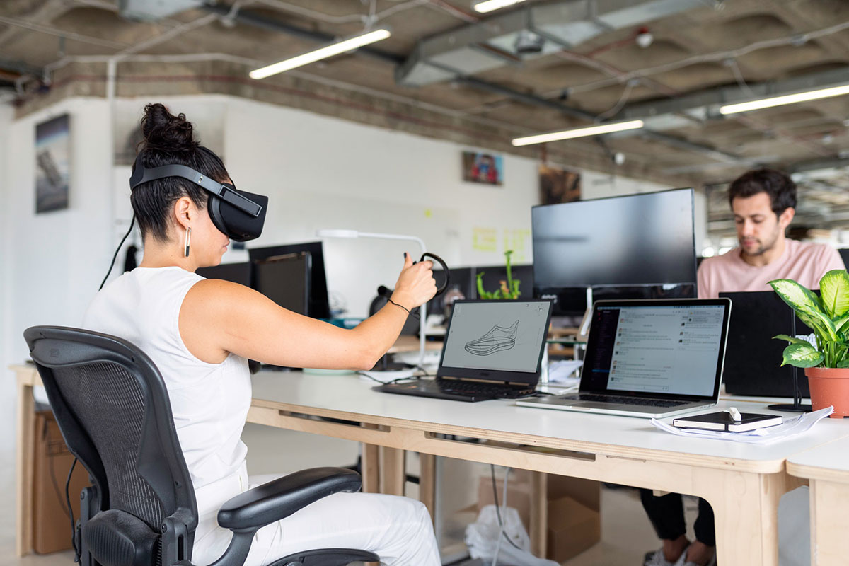 Virtual Reality Brille im Online Marketing